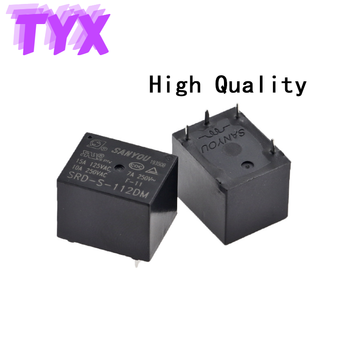 100%Original New SANYOU Relay SRD-S-105DM SRD-S-112DM SRD-S-124DM 4-pin T73 10A  5VDC 12VDC 24VDC Power Relay genuine new original toward relay lrl 101 100pcv
