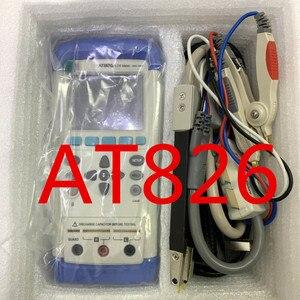 AT826 Ручной USB LCR Цифровой измеритель индуктивность емкость сопротивление измеритель электрический мост сенсорный экран ESR тестер
