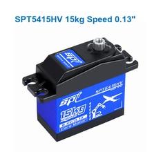 купить SPT Steering gear 15kg 180° SPT5415HV High speed Metal gear Digital Servo for 1:10 RC Car Boat robot Fixed-Wing Helicopter по цене 846.05 рублей