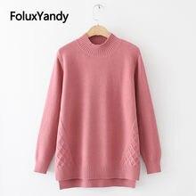 2020 новые осенние женские водолазки свитера пуловеры размера