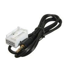 Novo aux no adaptador de cabo de entrada de áudio para vw touran tiguan audi golf rcd510 rcd310 rns510