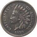 1859 копия монеты в индийском стиле