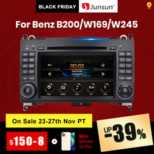 Junsun 2 din Car Radio car dvd player For Mercedes Benz B200 A B Class W169 W245 Viano Vito W639 Sprinter W906 Android 9.0 GPS