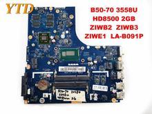 Оригинальный Для Lenovo B50-70 Материнская плата ноутбука B50-70 3558U HD8500 2 Гб ZIWB2 ZIWB3 ZIWE1 LA-B091P испытанное хорошее Бесплатная доставка
