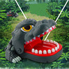 Practical Jokes Biting  Dinosaur Mouth Tooth Bite Hand Finger  Bar Game Funny Gags Toy Gift For Kids Children