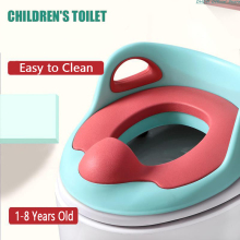 Children's Pot Portable  Baby Potty Training Seat Travel Toilet Seat With Armrests Slip-Proof Safety Urinal Chair Girls Boys
