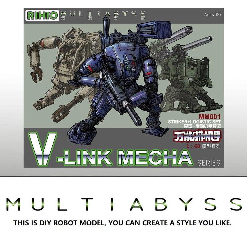 SUPER ROBOT Model 1/60 MM001 V-LINK MECHA INFINITY MAZINGER GUNDAM TRANSFORMATION ROBOT  Armor Unchained Mobile Suit Kids Toys