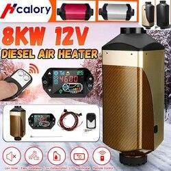 Auto Heater Verwarming 12V 8KW Air Diesel Heater Nieuwe Lcd Display Schakelaar Voor Webasto Boot Auto Van Rv Bus -Vervang D4 Auto Heater