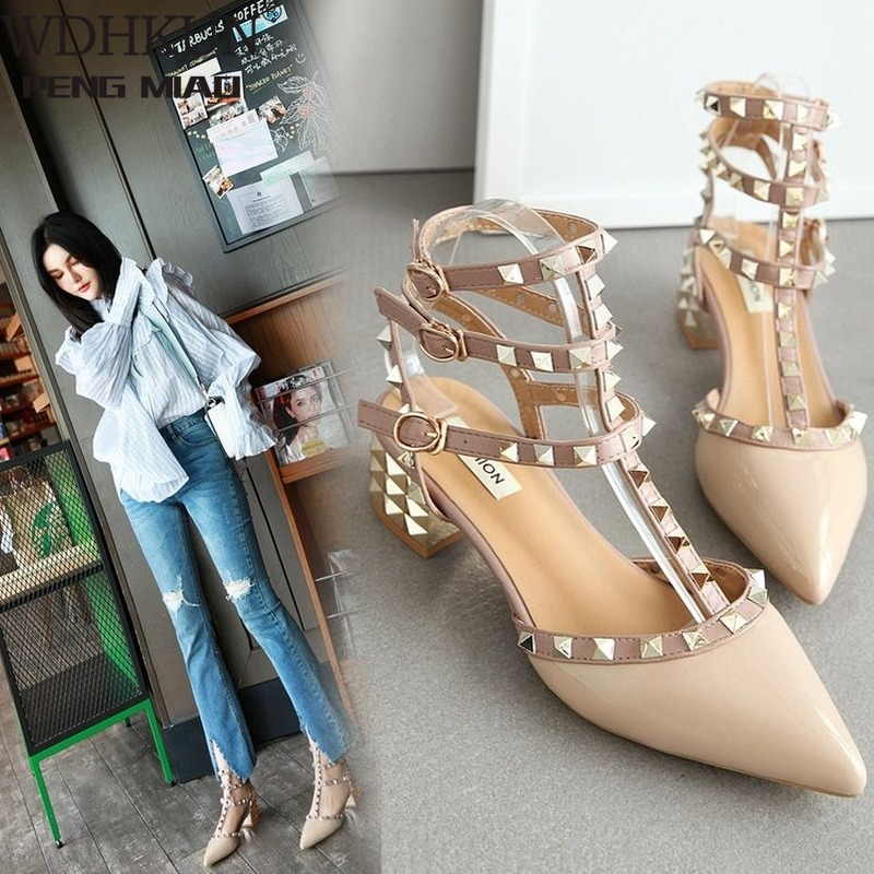 Shoes Woman 2020 Summer Ladies High Heels Valentine Shoes Female Pointed Toe Pumps For Womens Shoe Zapatos Chaussure Femme