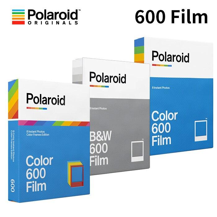 Оригинальные Polaroid Instant 600, цветная черно-белая пленка для Onestep2 Instax Camera SLR680 636 637 640 650 660, автофокус невозможный
