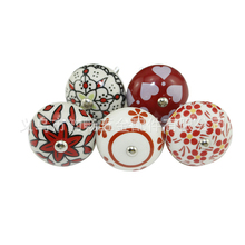 10pcs Ceramics Knobs Cupboard Drawer Pull Kitchen Cabinet Door Wardrobe Handles Hardware Household items Home decoration цена 2017