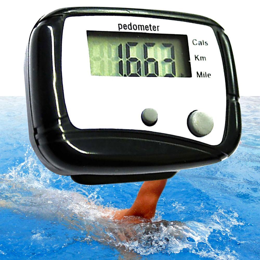 Многофункциональный ЖК-дисплей шагомер калории километр счетчик Шагомер ходьбы цифровой карманный зажим мини аксессуар для бега