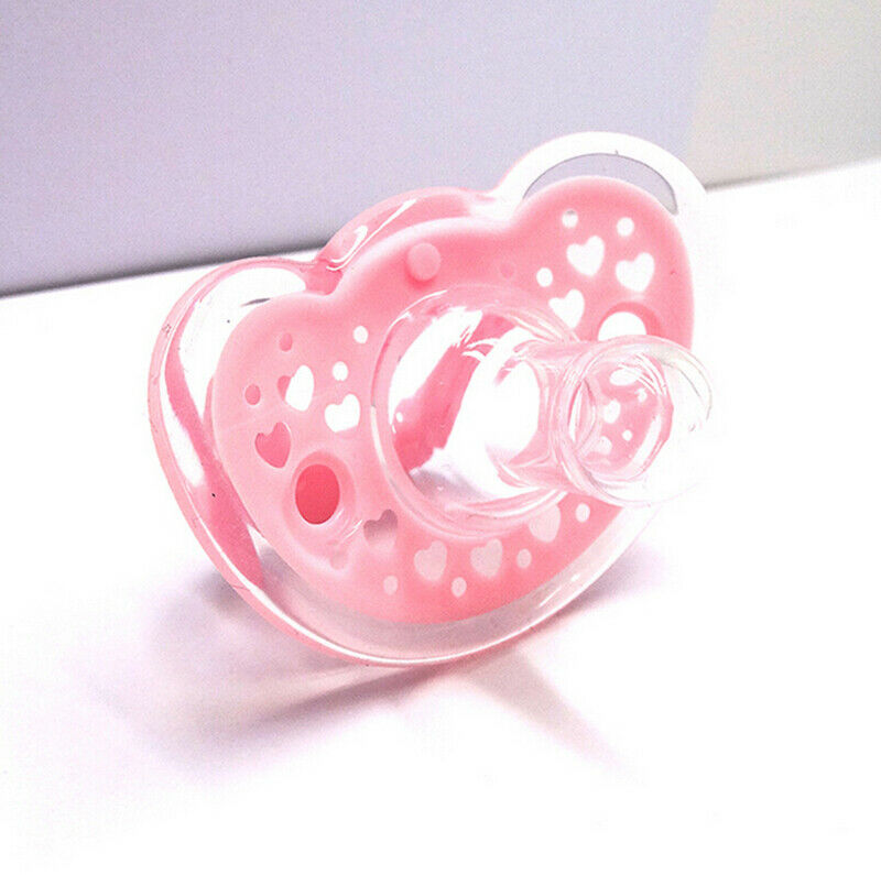 US Fashion Adult Orthodontic Dummy Pacifier Silicone Teat Nipple Soother Newly