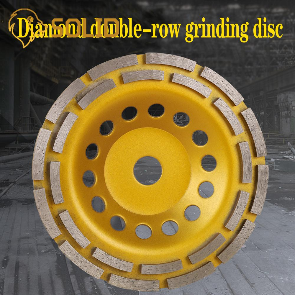 150/180mm Diamond Grinding Wheel Cup Cutting Disc For Concrete Marble Granite Diamond Grinding Wheel Thickness 26mm 1Pc