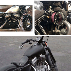 Image 3 - Motorcycle Air Filter Air Cleaner Kit CNC Intake System For Harley Sportster XL 883 XL1200 1992 1993 2016