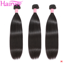 Hairvev Malaysia Straight Hair Weave Bundles 3 or 4 Bundles Natural Color Human Hair Bundles Remy Hair Extensions Free Shipping cheap =10 Malaysia Hair Darker Color Only Dyed Weaving Machine Double Weft