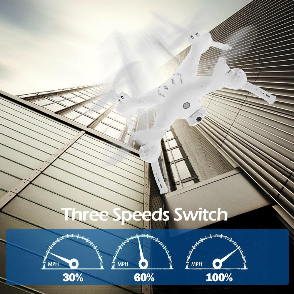 ATTOP W10 RC hélicoptère Drone avec caméra 720P Wifi FPV hauteur maintien Auto-retour 2.4G RC quadrirotor VS XS809W XS809HW