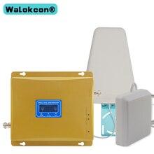 GSM 3g مكرر الهاتف المحمول الخلوي GSM 900 WCMDA UMTS 2100 mhz الهاتف المحمول إشارة الداعم 3g موبايل مكبر للصوت الإنترنت هوائي