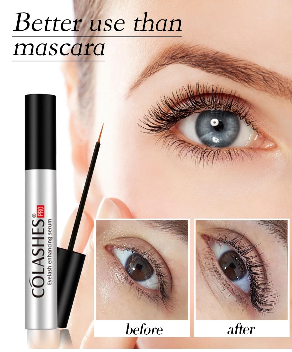 Eyelash Growth Essence Treatment Eyelash Enhancer Longer Fuller Thicker Lashes Serum Eyelashes Lifting Eyebrows Enhancer Women