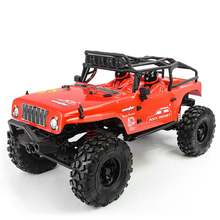 CJ10 for Caster 1/10 2.4G 4WD RC Car Electric Off-Road Rock Crawler Vehicles with LED Light RTR Model(China)