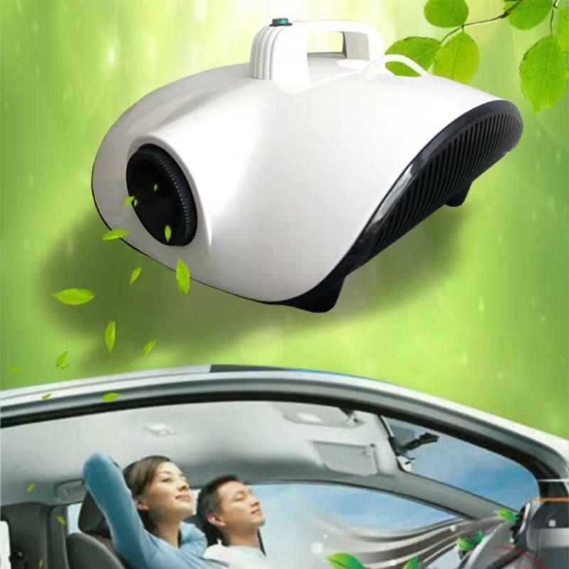 1500W Atomization Sterilizer Fog Machine Remote 220V Car Home Smoke Machine Clear Virus Aerosol Disinfector
