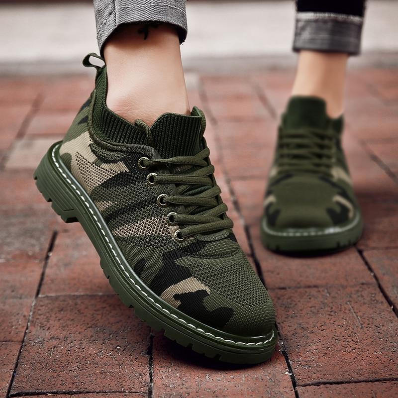 Fashion Camouflage Sneakers Women