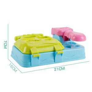 Image 5 - DIY Playdough Clay Deeg Plasticine slime Ijs Machine Mal Play Kit DIY Speelgoed Handgemaakte Noodle Maker Keuken Speelgoed Kinderen gift