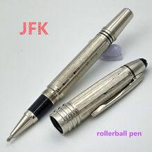 Luxo john f. Kennedy série de metal mb marca caneta rolo bola caneta com alta quailty artigos de papelaria escola material escritório escrita