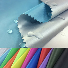 Tela impermeable recubierta de PLATA VERDE fina para tienda, protector solar, Material de bolsa de hielo, rojo, Azul, Gris, Blanco, Negro