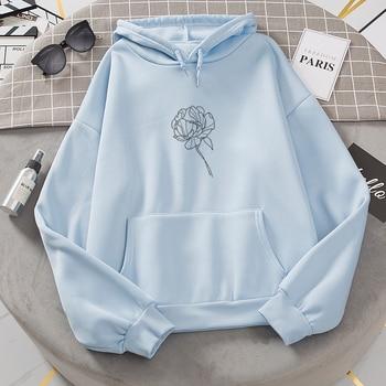 Plus Velvet Sweatshirts Women White Women's Gown with A Hood Hoodies Ladies Long Sleeve Casual Hooded Oversized Pullovers Tops