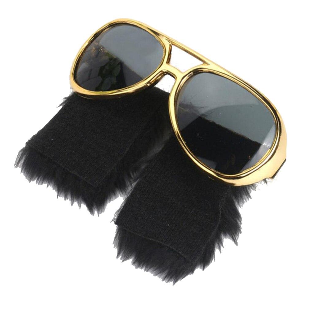 Gold Disco Earrings Jewellery for 70s 80s Fancy Dress Accessory