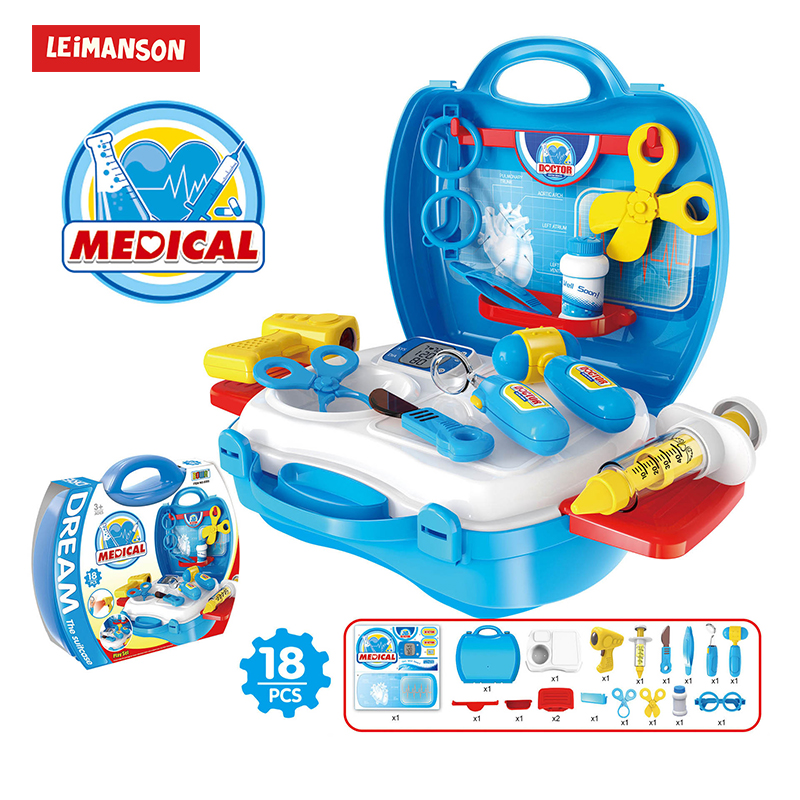 Hospital Pretend Play Doctor Set Kids Toys For Children Girls 3 Years Playseat Kitchen Toys Games For Girls Kids Boy Girl Games