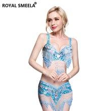 새로운 여성의 밸리 댄스 세트 의상 배꼽 춤 의류 섹시한 나이트 댄스 bellydance 카니발 탑 체인 브래지어 벨트 WY8608