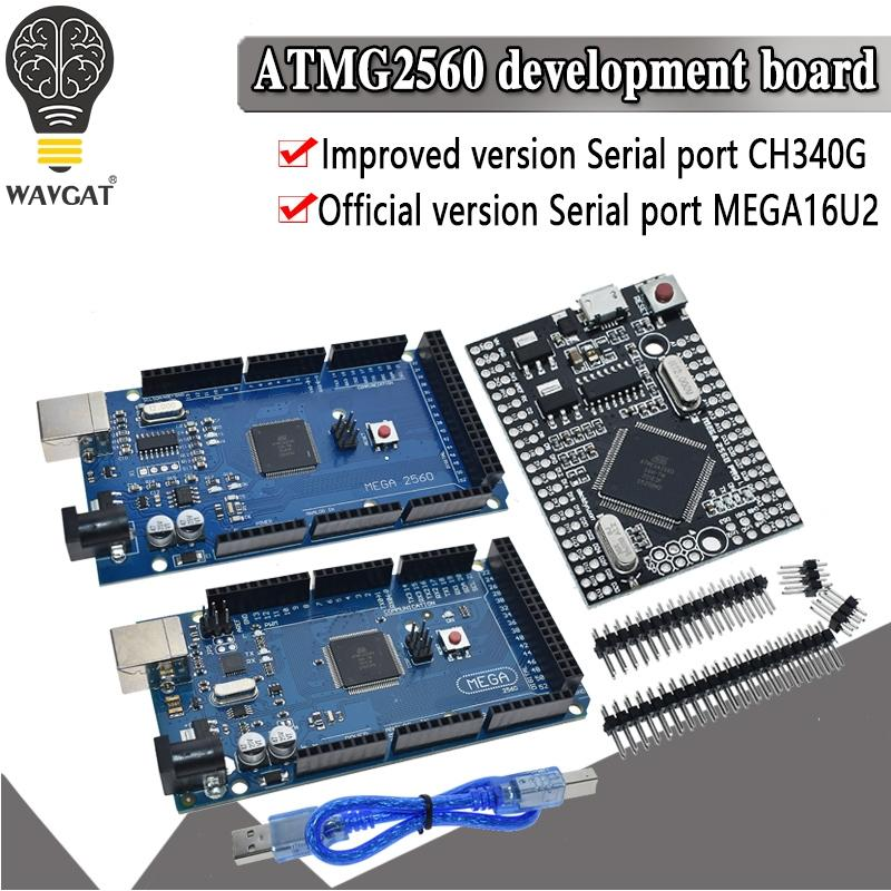MEGA2560 MEGA 2560 R3 ATmega2560-16AU CH340G AVR USB board Development board MEGA2560