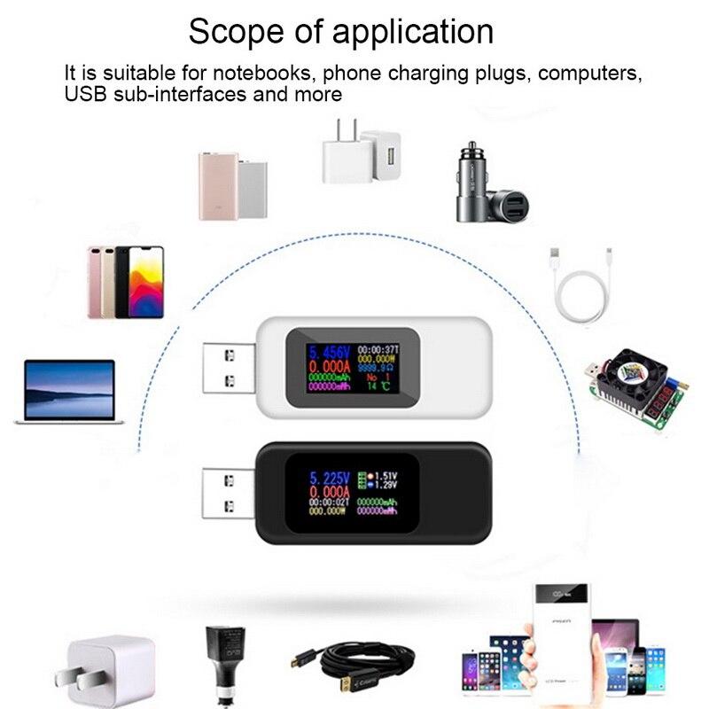 de tensão capacidade carregador de energia detector para o telefone inteligente