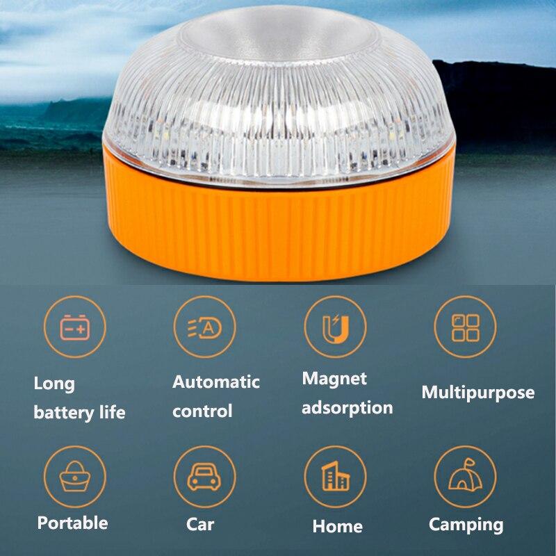 Светильник Аварийного v16 сигнала вращающийся светильник маяк аварийного автомобиля светильник движения Безопасность Аварийные огни свети...