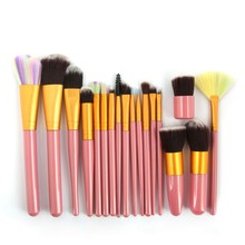 Pretty Comy 18pcs/set Makeup Brushes Set For Foundation Powder Blush Eyeshadow Concealer Lip Eye Make Up Brush Cosmetics Tools mac shiny pretty things lip set