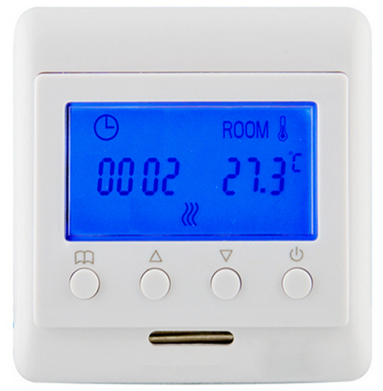 220V 16A Floor Heating Room Thermostat Mechanical Temperature Controller With LCD Screen