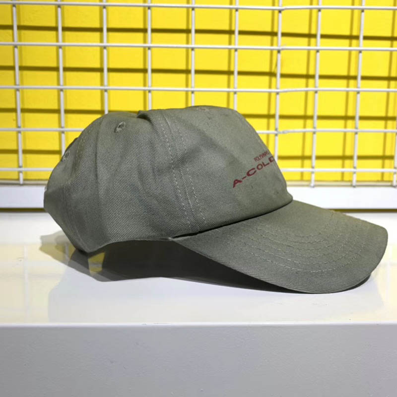 Men Women 1:1 A COLD WALL ACW Baseball Cap Big tag High Quality Outdoor Sunscreen Casual A-COLD-WALL Hats