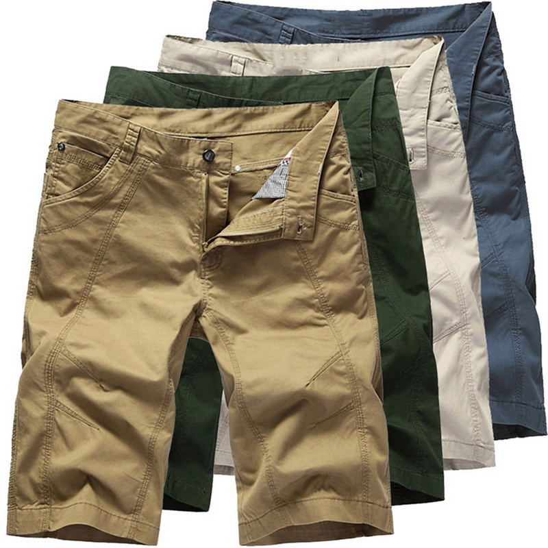 NIBESSER Casual Shorts Pocket-Clothing Cool Military Male Tactical Summer Men Cotton