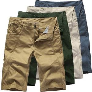 NIBESSER Casual Shorts Pocket-Clothing Zipper Military Male Tactical Summer Men Cotton