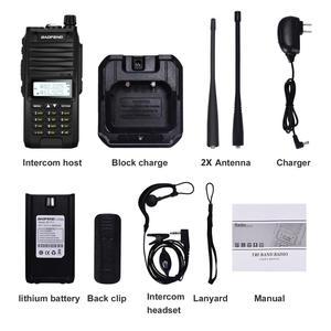 Image 5 - Baofeng BF F11 10W Tri band  Updated of  BF UVF10 IP67 Waterproof 4800Mah 10KM long rang Powerful Walkie Talkie Two Way Radio