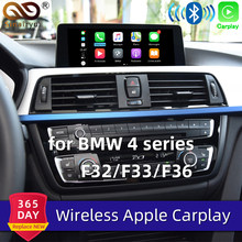 Sinairyu WIFI inalámbrico de Apple Carplay para BMW Retrofit serie 4 F32 F33 F36 NBT 2013-2017 Android Auto/Espejo Waze Spotify mapas(China)