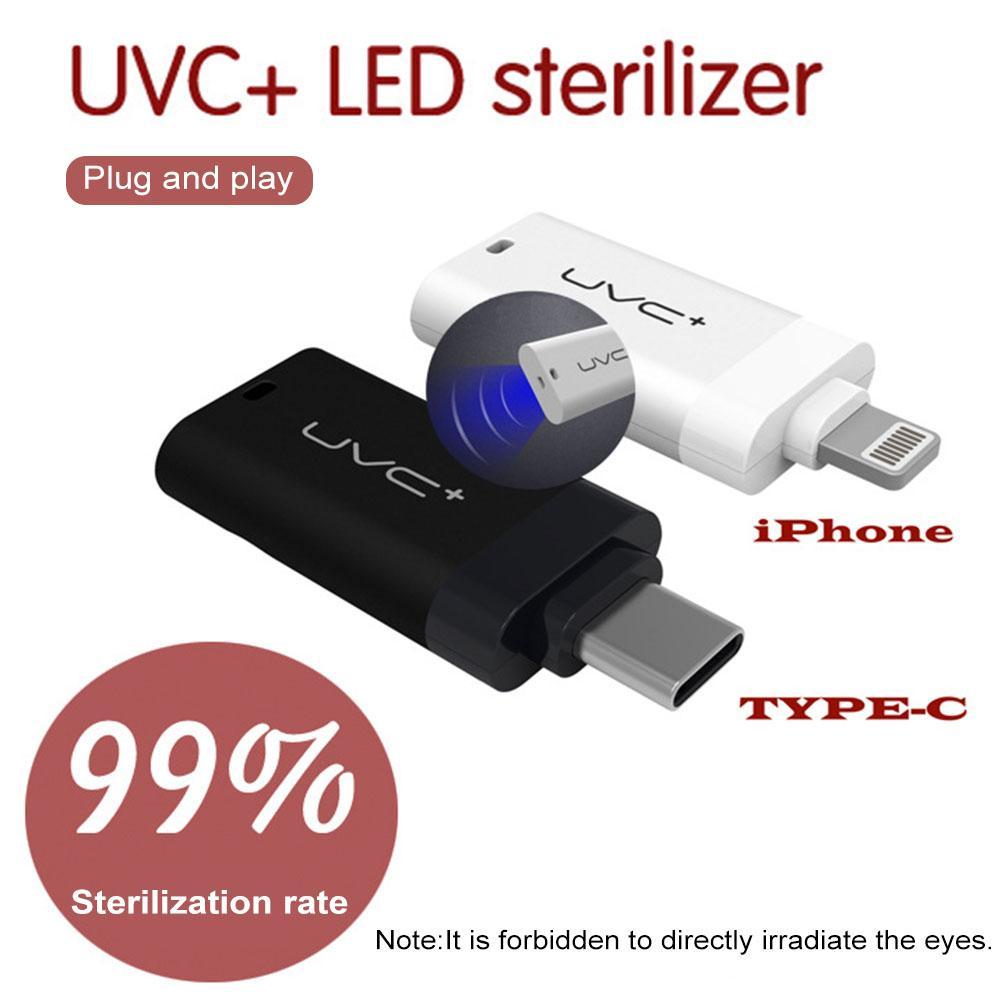 Vip Link Mini USB Ultraviolet Germicidal Light  DC5V Portable Handheld UVC LED Sterilizing Lamp For Masks Cups Tablewares