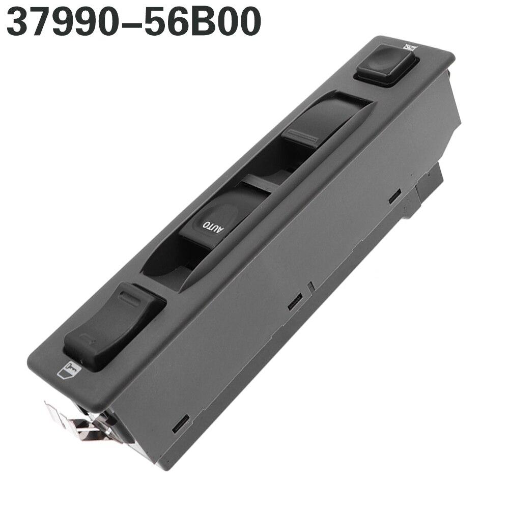 37990-56B00 3799056B00 güç pencere ana kumanda anahtarı için Geo Tracker Vitara Suzuki Sidekick için JLX spor spor araba anahtarı