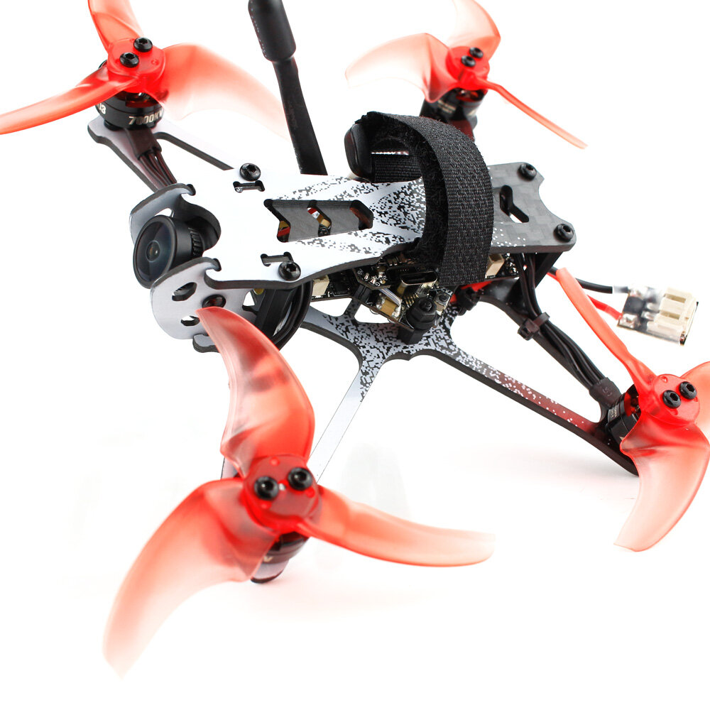 Emax Tinyhawk II Freestyle 2.5Inch 115mm F4 1103 7000KV Runcam Nano2 200mW VTX Frsky D8 BNF FPV Racing Drone for FPV Beginner