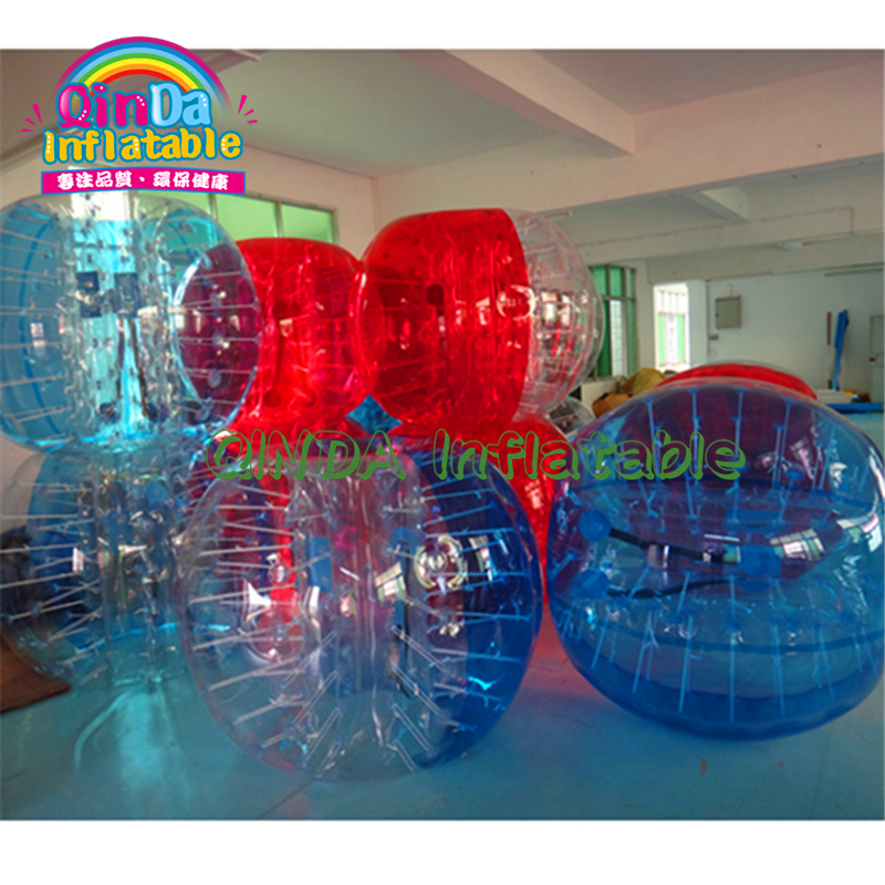 1.2m/1.5m/1.7m Diameter Kids&adults Body Suit Inflatable Bubble Football Soccer Ball With Colored Dots