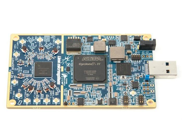 LimeSDR Software Defined Radio (SDR) Platform