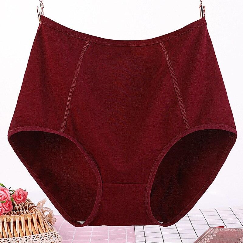 2pcs/set Extra Large Size Panties Soft Cotton Briefs For Women Seamless Underpants High Waist Underwear Female Intimates XL-6XL