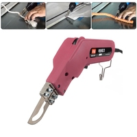 EU/US 100W Die Cut Machines Electric Banner Rope Sponge Hot Knife Cutter Cutting Tool AC 230V/50Hz 120V/60Hz Plastic Puncher New
